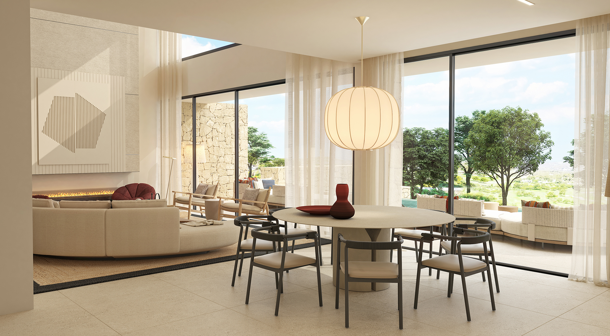 Saloon - view 9 - TypeA - Corallisa - Signature Home Ibiza