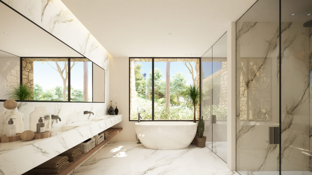 Bathroom - view 01 - Type B - Corallisa - Signature Home Ibiza