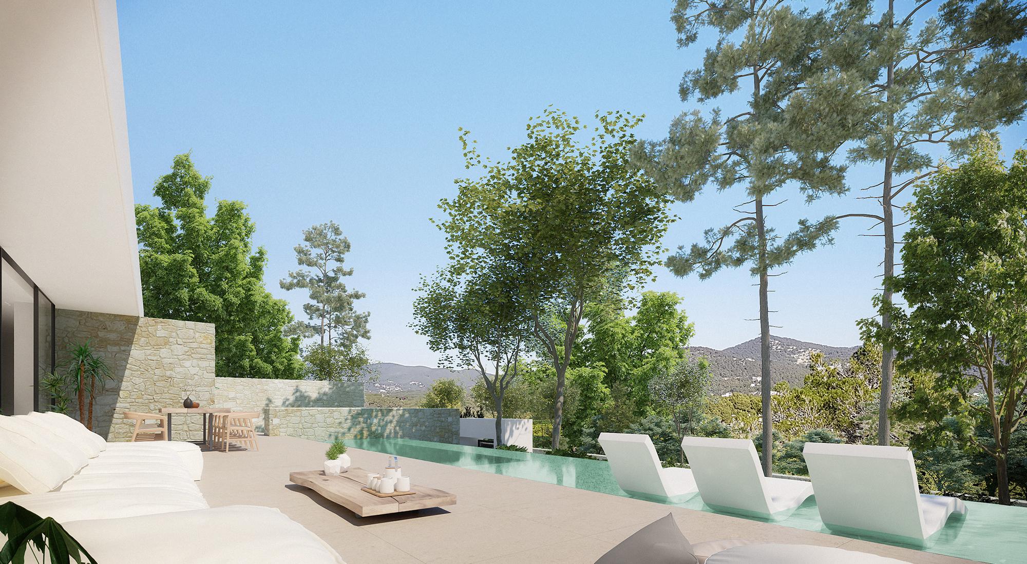Pool - Type D - Corallisa - Signature Home Ibiza