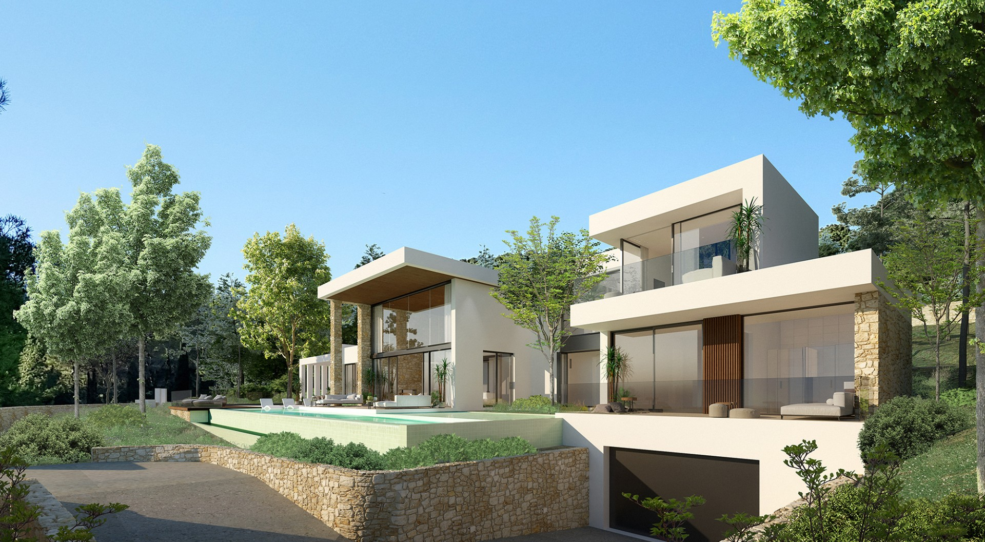 Outside - view A - Type D - Corallisa - Signature Home Ibiza