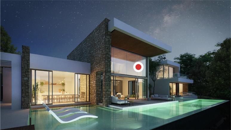 Outside - view B - Type D - Corallisa - Signature Home Ibiza