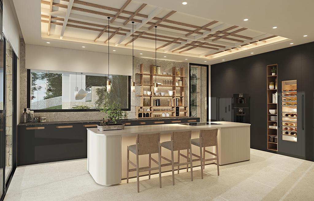 Kitchen - view 02 - TypeA - Corallisa - Signature Home Ibiza
