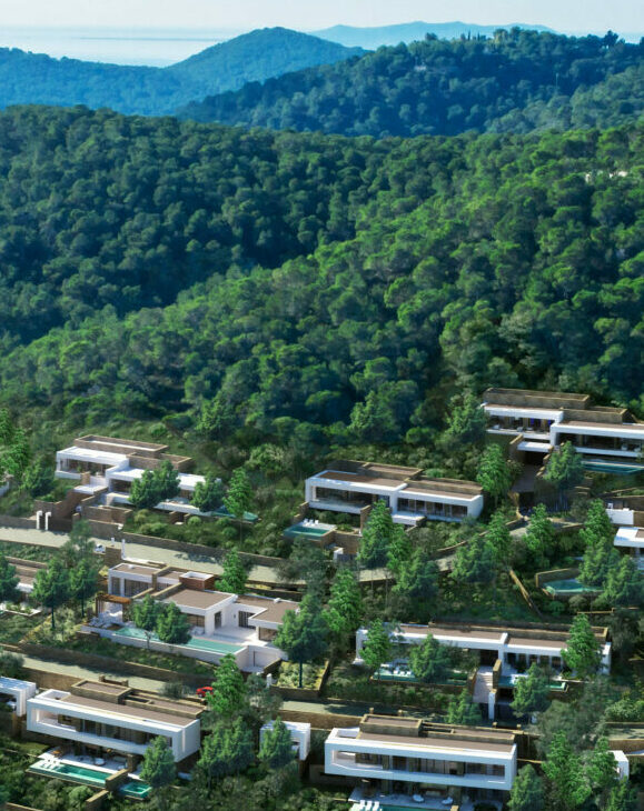 Aerial view - Corallisa - Signature Home Ibiza