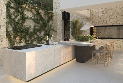 Kitchen terrace - view 02 - TypeA - Corallisa - Signature Home Ibiza