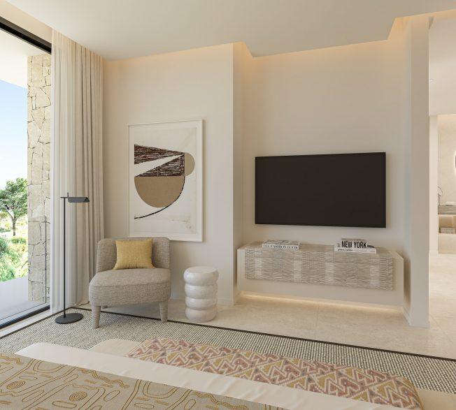 Main Bedroom - view 04 - TypeA - Corallisa - Signature Home Ibiza