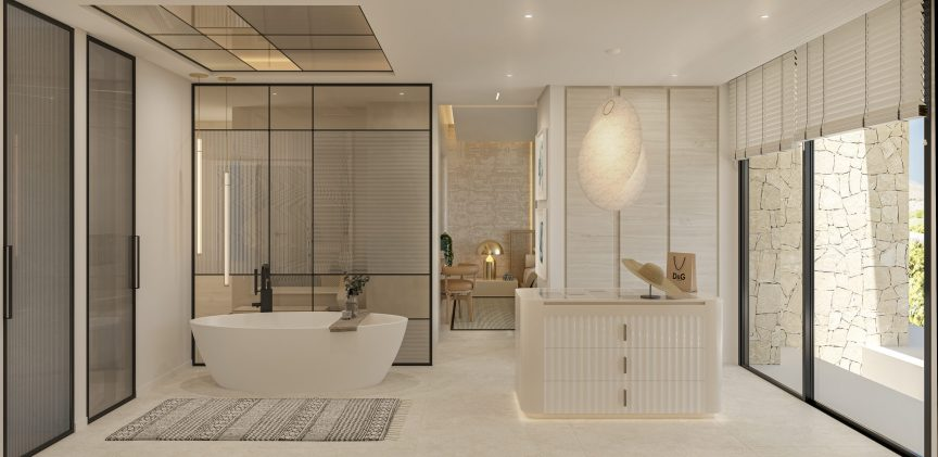 Main Bathroom - view 05 - TypeA - Corallisa - Signature Home Ibiza