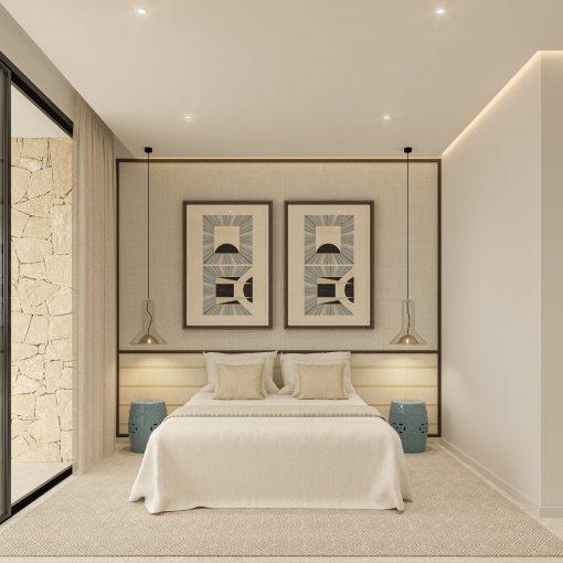 Bedroom 02 - Ground Floor - view 09 - TypeA - Corallisa - Signature Home Ibiza