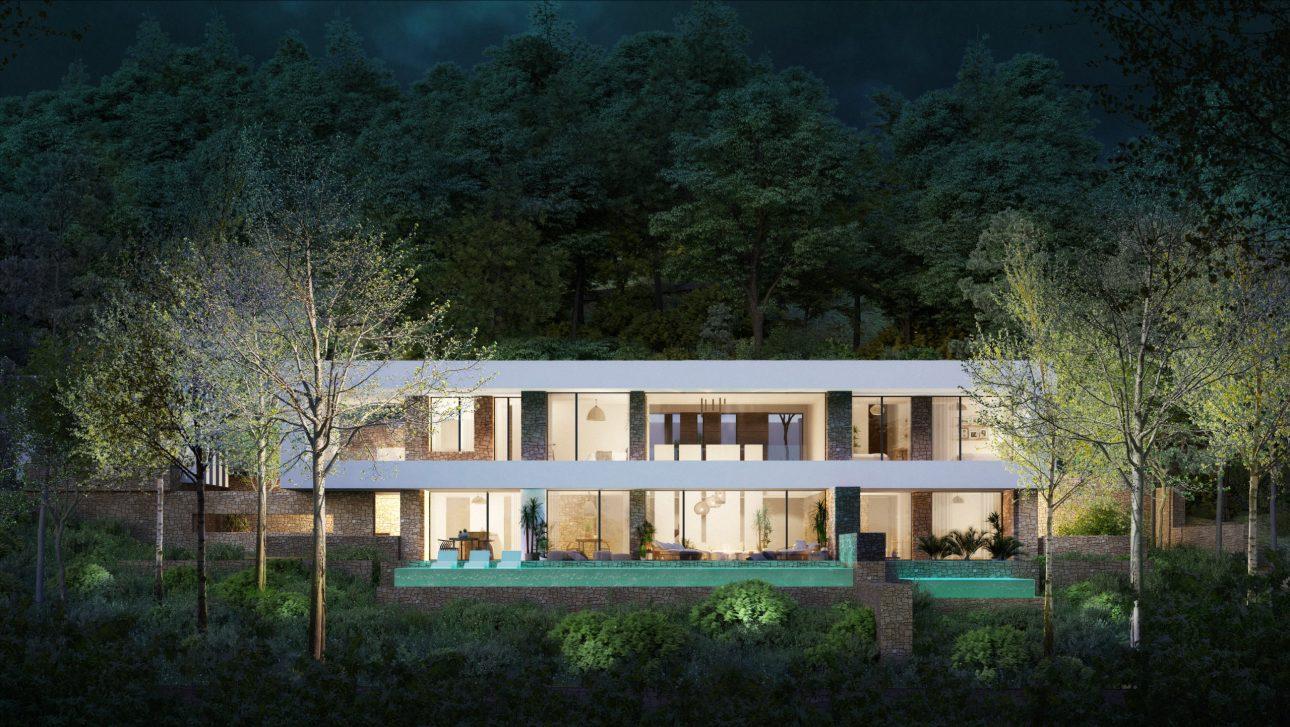 Outside - view 02 - TypeA - Corallisa - Signature Home Ibiza