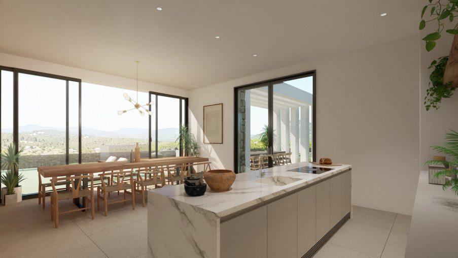 Kitchen - Type D - Corallisa - Signature Home Ibiza