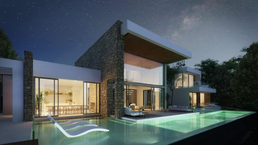 Outside -view A - Type D - Corallisa - Signature Home Ibiza