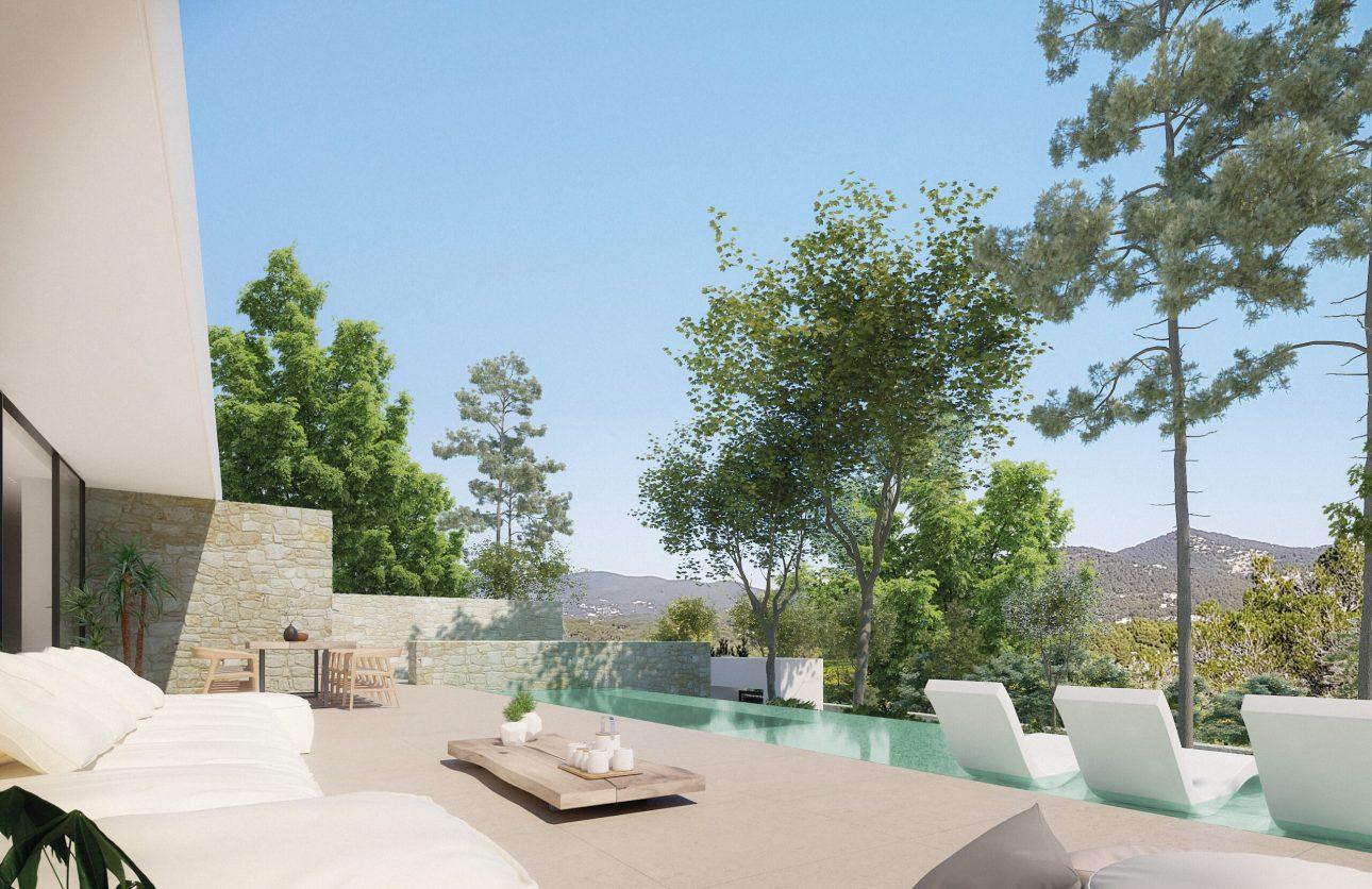 Garden - view 02 - Type B - Corallisa - Signature Home Ibiza